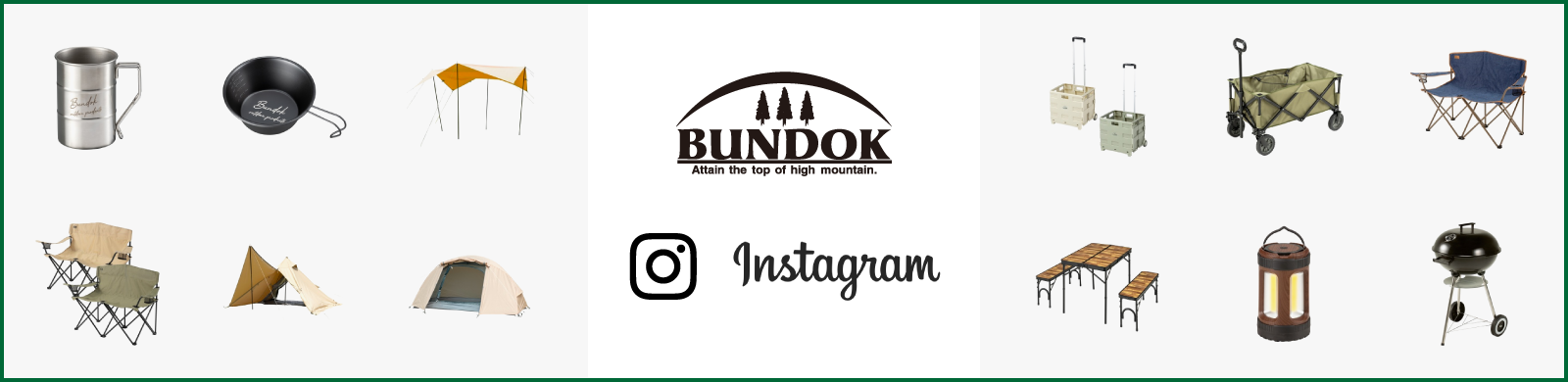 BUNDOK instagram